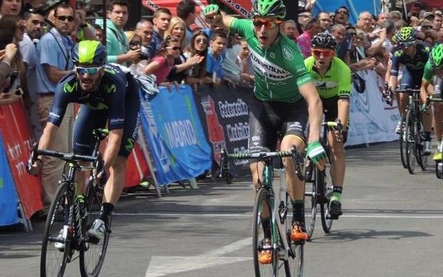 Carlos Barbero gana una etapa en la Vuelta a Burgos