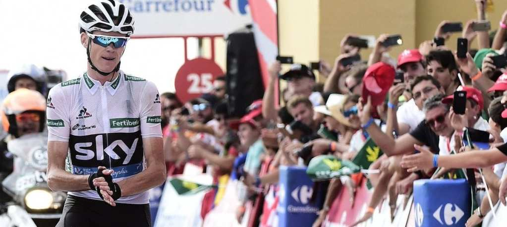Froome aplaude la victoria de Nairo Quintana