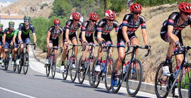Giant en la última edición de la Vuelta a España