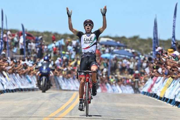 Rui Costa gana la 5ª etapa del Tour de San Juan