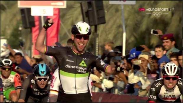 Cavendish gana la primera etapa del Abu Dhabi Tour