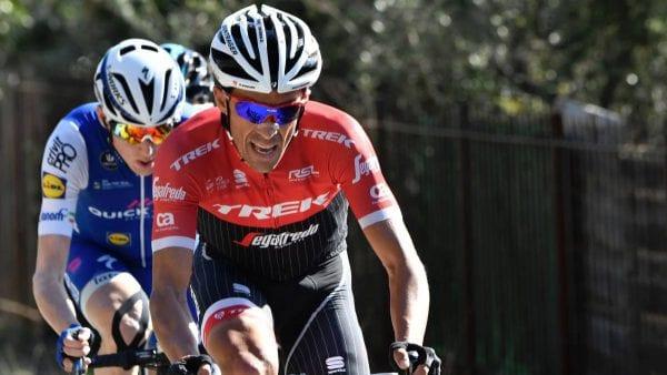Contador en la sexta etapa de la París - Niza