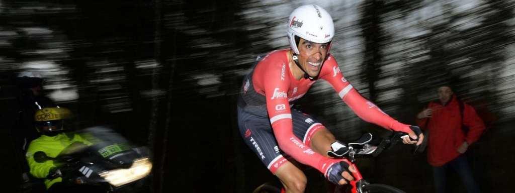 Contador en la crono de París - Niza