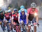 Contador durante la 7ª etapa de la París - Niza