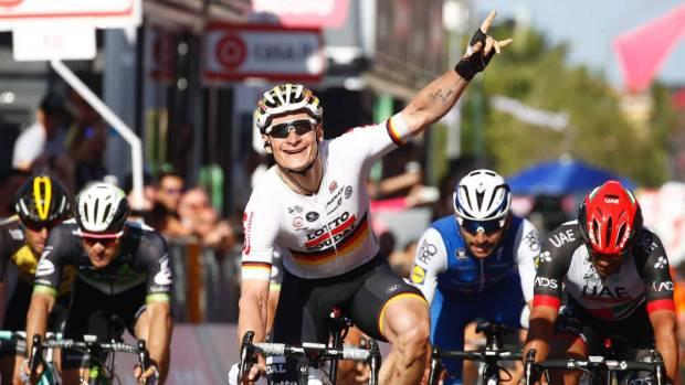 André Greipel gana la segunda etapa del Giro de Italia