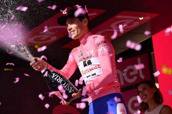 Tom Dumoulin, nueva maglia rosa