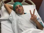 Vincenzo Nibali tras su operación