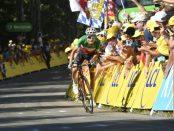 Fabio Aru en el Tour de Francia