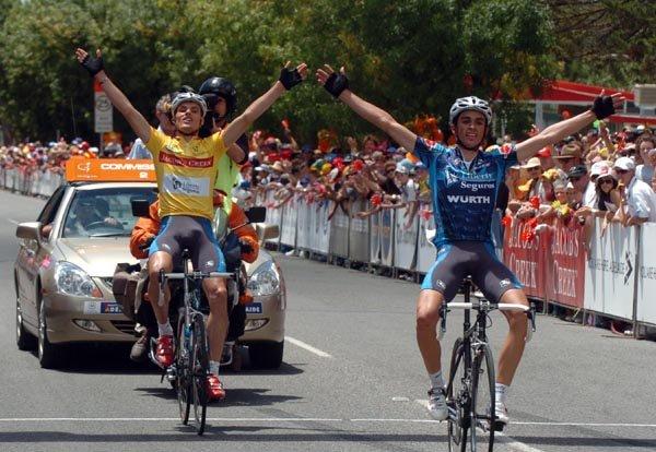 Alberto Contador en el Tour Down Under