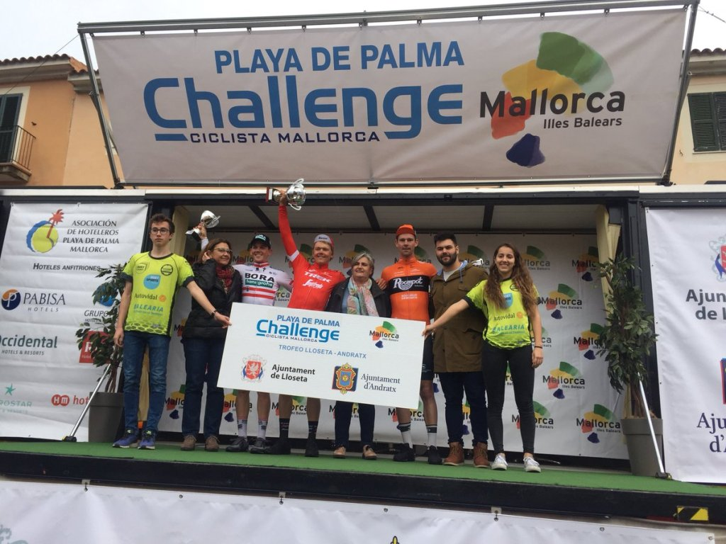 Skujins gana en el Challenge de Mallorca