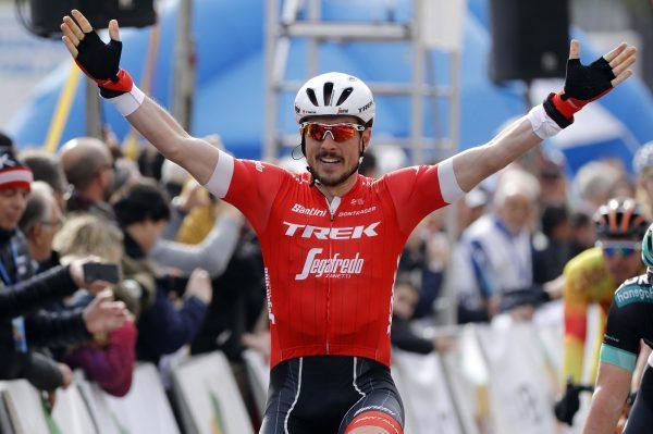 John Degenkolb ganando el trofeo Palma