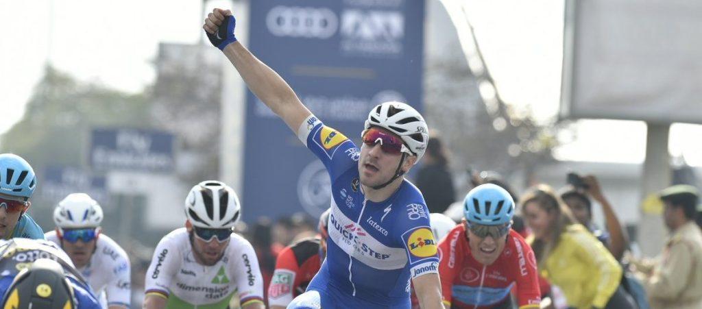 Elia Viviani gana la 2ª etapa del Dubái Tou