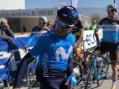 Mikel Landa en la salida de la 2ª etapa de la Vuelta a Andalucía