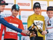 Kwiatkowski y Geraint Thomas en la Vuelta al Algarve