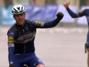 Cavagna ganando Dwars door West Vlaanderen