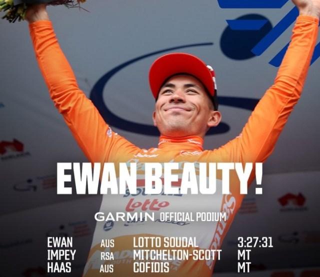 Ewan-Tour Down Under