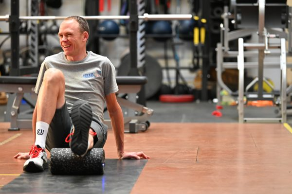 Rehabilitación Chris Froome