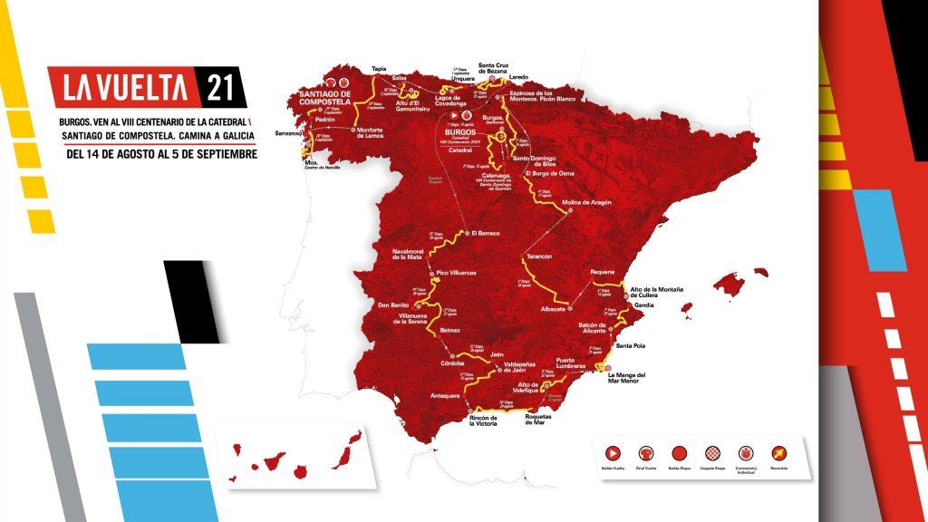 Recorrido Vuelta a España 2021