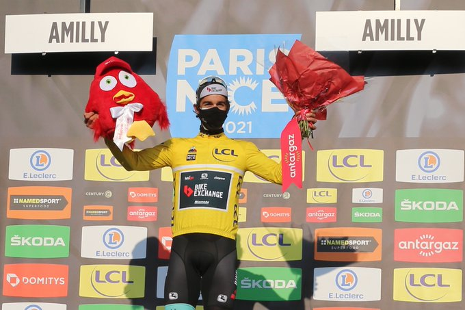 Michael Matthews se viste de amarillo en París - Niza