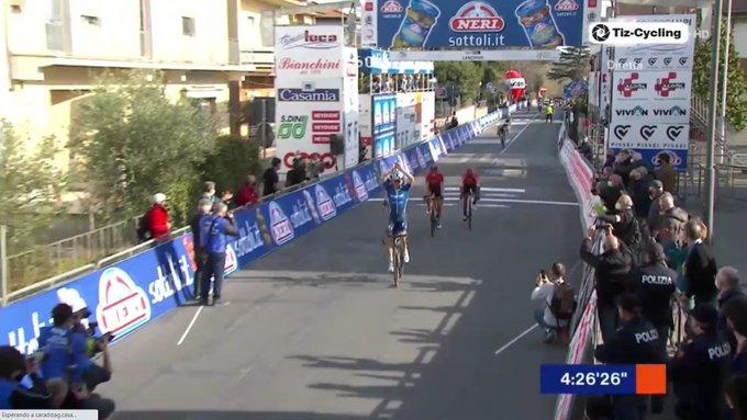 Mauri Vansevenant gana el GP Industria y Artigianato