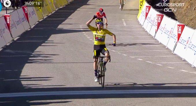 Primoz Roglic gana la 7 etapa de París - Niza