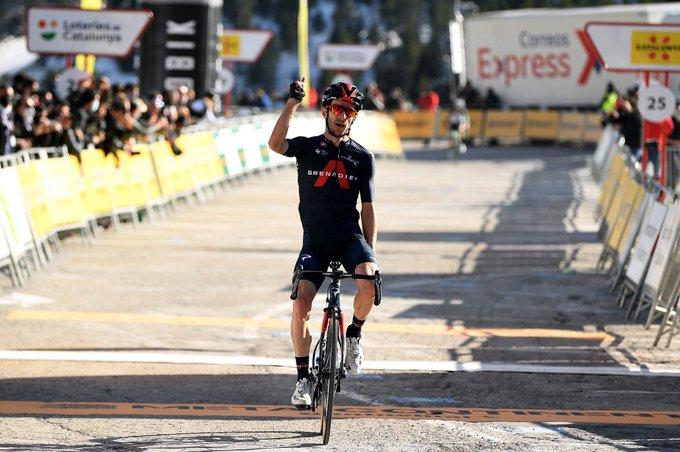 Adam Yates gana la tercera etapa de la Volta a Catalunya