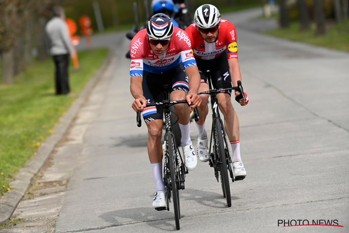 Van Der Poel y Kasper Asgreen