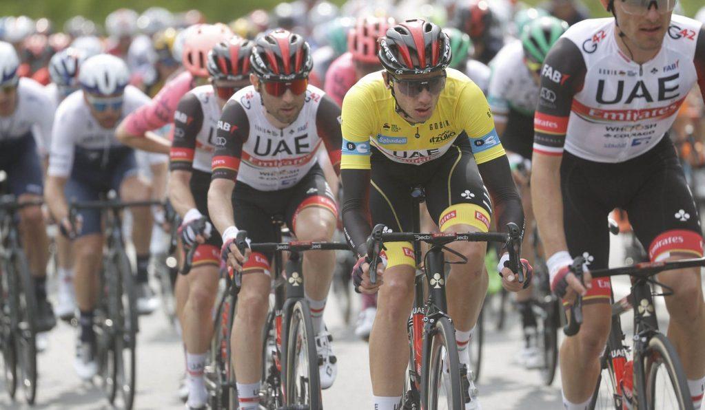Brandon McNulty en la Vuelta al País Vasco