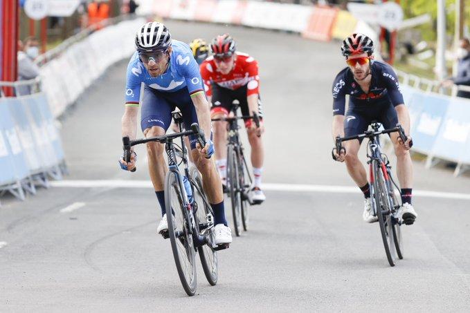 Alejandro Valverde en la Vuelta al País Vasco