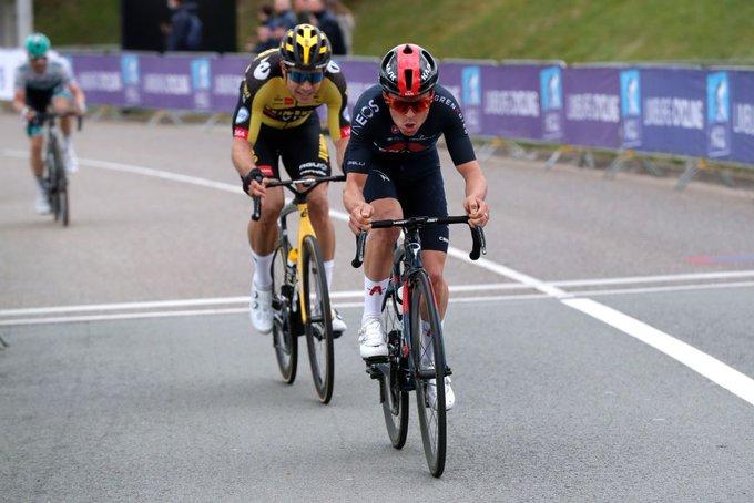 Thomas Pidcock en Amstel Gold Race