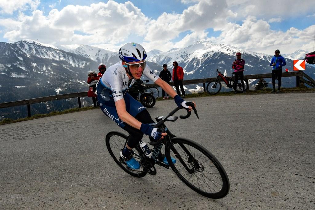 Daniel Martin en el Tour de los Alpes