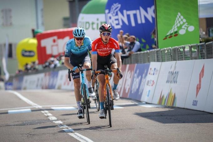 Pello Bilbao gana la 4ª etapa del Tour de los Alpes