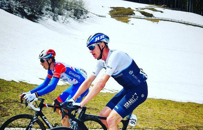 Froome en el Tour de los Alpes