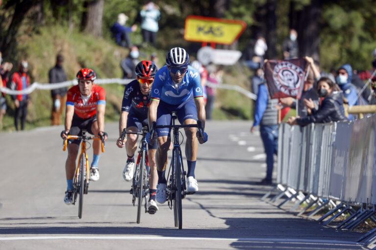 Alejandro Valverde en la tercera etapa de la Vuelta a España