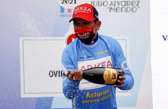 Nairo Quintana gana la Vuelta a Asturias
