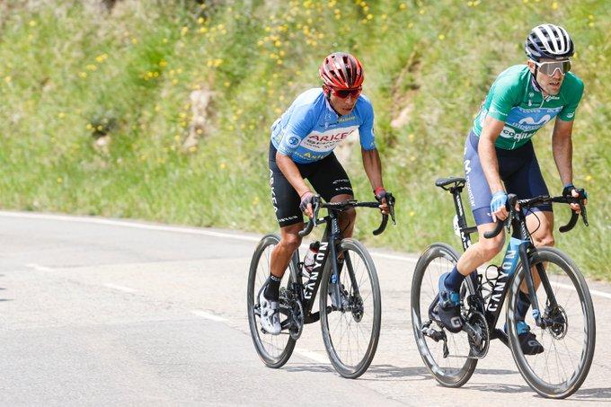 Nairo Quintana en la Vuelta a Asturias