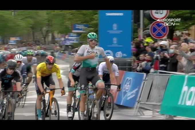 Jordi Meeus gana la segunda etapa del Tour de Hungría