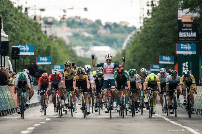 Eward Theuns se lleva la cuarta etapa del Tour de Hungría