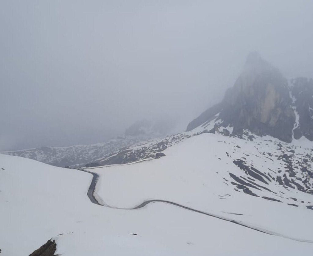 Passo Giau nevado