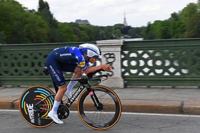 Remco Evenepoel gana la crono del Tour de Bélgica
