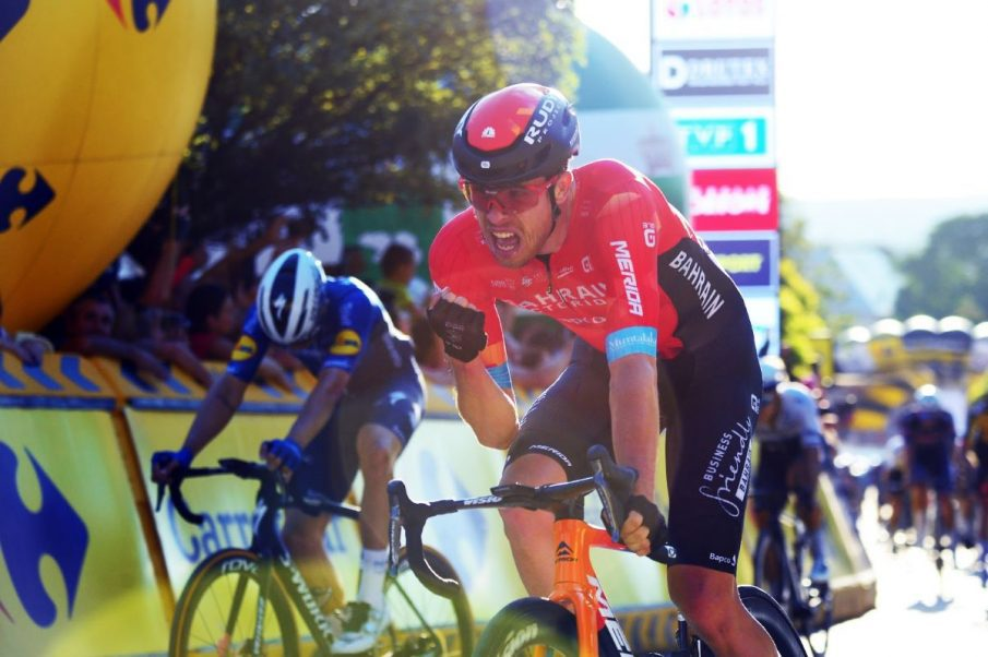 Phil Bauhaus se lleva la primera etapa del Tour de Polonia