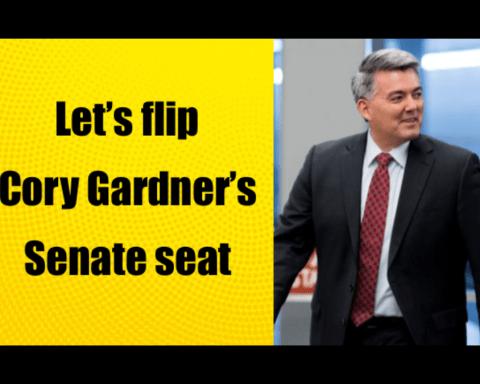 Let's flip Cory Gardner's Senate seat.