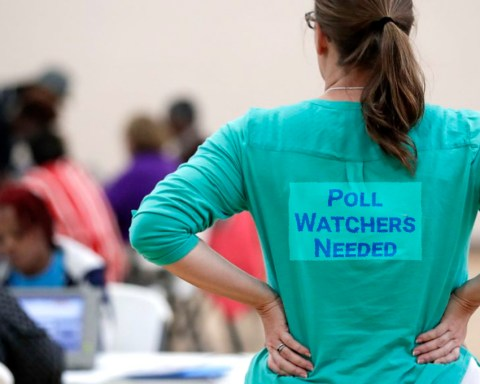 Poll Watchers Needed