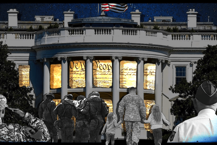 veterans coming to the White House