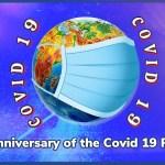 COVID 19 anniversary