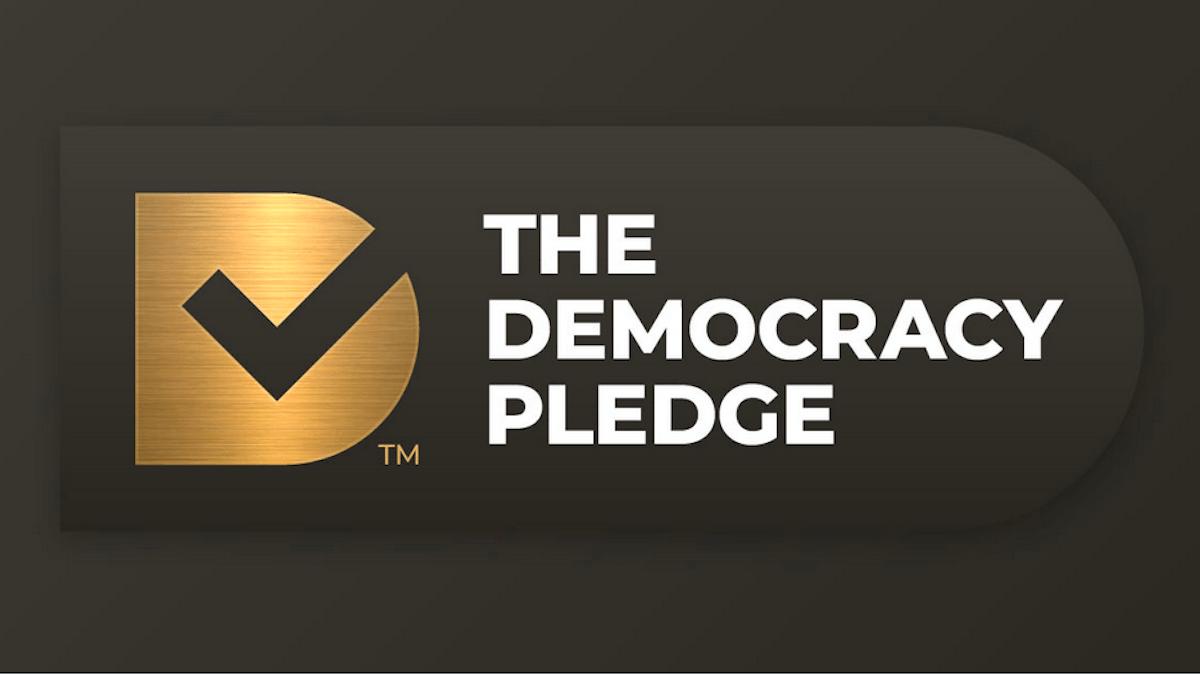 the democracy pledge