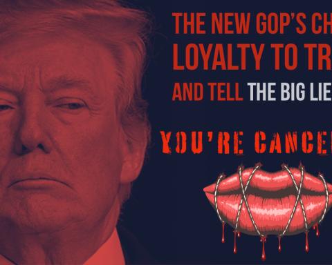 Trump's Big Lie