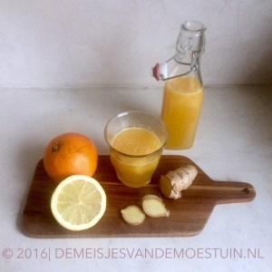 citrus drankje tegen griep