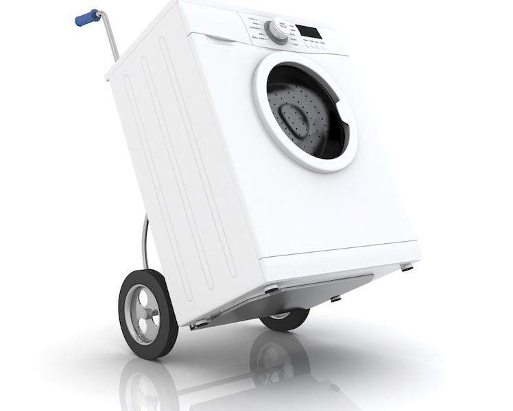 déménager une machine à laver