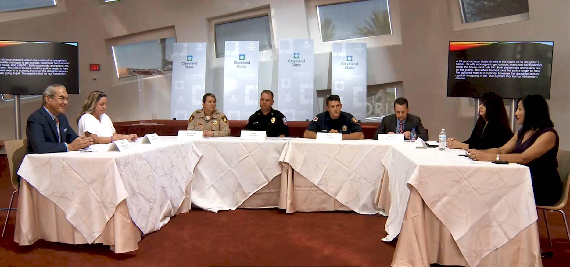 First responders discuss dementia